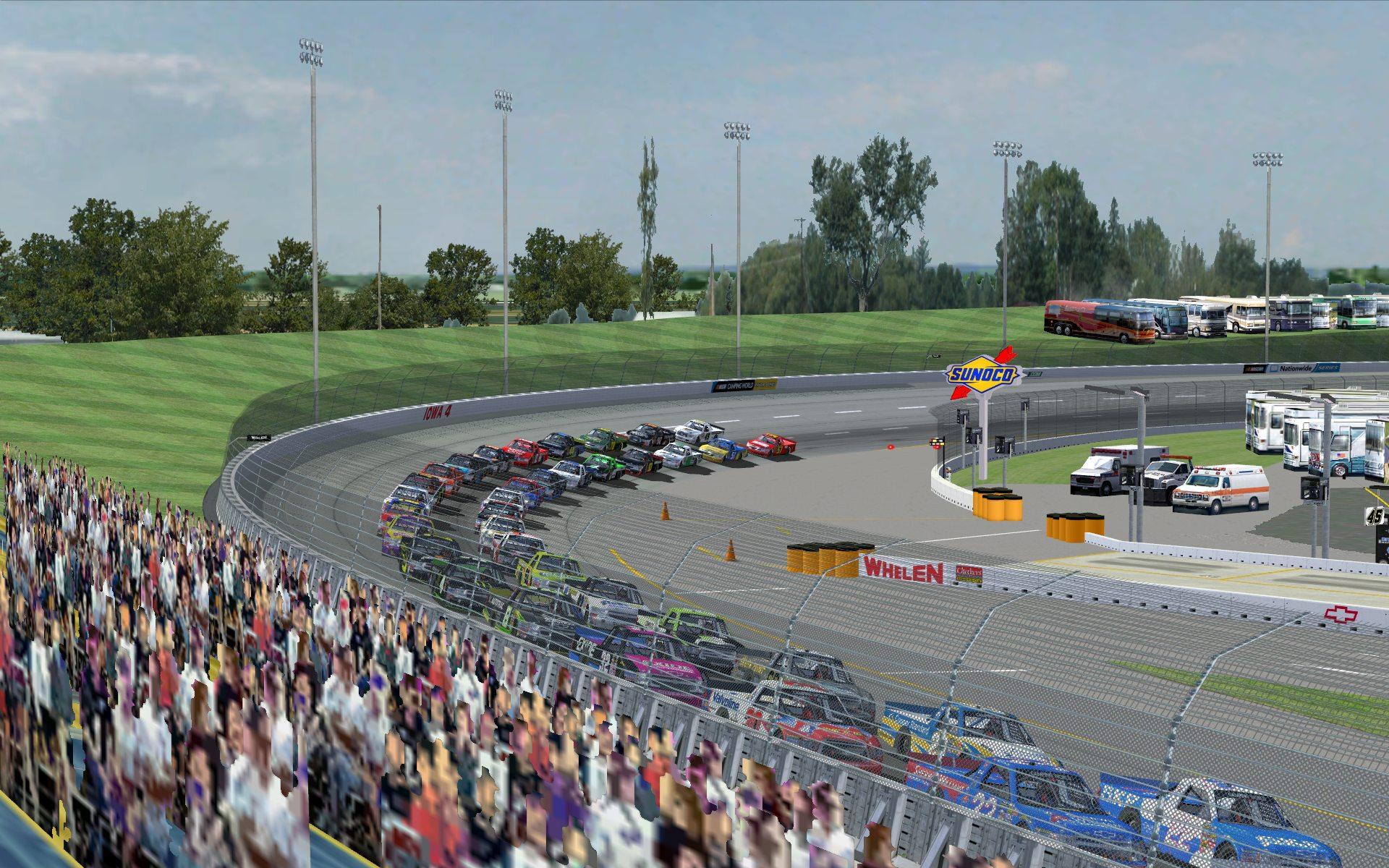 Iowa Speedway (day and night) at Smiffsden.com